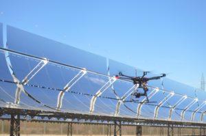Inspección en campos solares con Drones